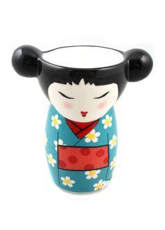 Kokeshi Dolls Egg Cup on livingExclusive