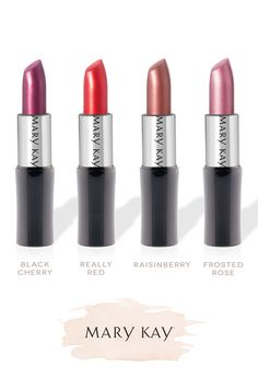 Classic lipstick shades for any event.   Mary Kay