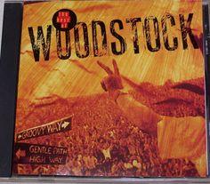 Best of Woodstock CD Canned Heat Joan Baez The Who Santana Jimi Hendrix  #FolkRock