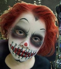 BOSTON Halloween Make Up Designs, Professional Face Painter, Special Effects Make Up Artist Boston