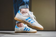 adidas Indoor Super 'Bright Blue/Collegiate Navy' - EU Kicks: Sneaker Magazine