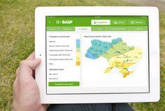BASF Дизайн, верстка і програмування електронного додатку (каталог та кальклятор) для мобільних пристроїв на базі iOS: 6.0 — 7.0 та Android 2.3 — 4.3 для компанії BASF