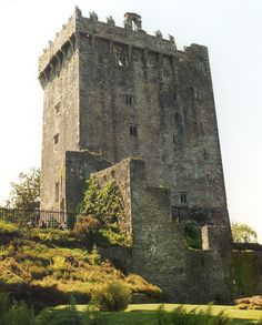 Blarney castle, Ireland - been there and layed down on the ground, upside down to kiss that Blarney Stone!