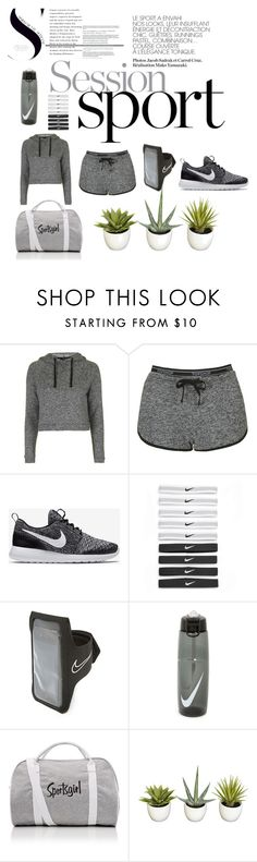 SportS by maria-kovina on Polyvore featuring мода, Topshop, NIKE and sport