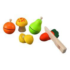 Plan Toys Fruit and Veggie Play Set