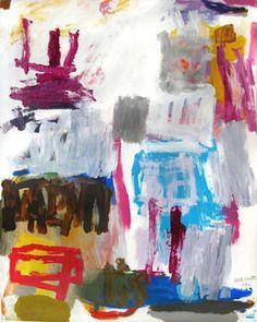 BILL SCOTT Virtuoso, 1992  Acrylic on paper (Strathmore Museum Board) 40 × 32 in 101.6 × 81.3 cm