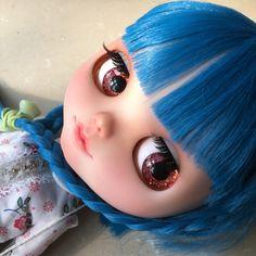 OOAK SA Hand-painted Handmade 12Blythe eyechips  by SAEYECHIP