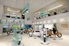 New Vespa dealership 3D design - coming to Jakarta soon!