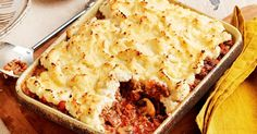Try Curtis Stone's cauliflower mash for a delicious new spin on the traditional cottage pie.