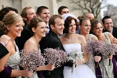 baby breath bouquets