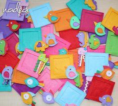 Felt Magnet Set of 40 Cute Magnets for baptism by NadeaKids