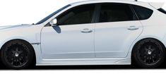 Duraflex 107863 Subaru Impreza Sti Impreza WRX 4 C-Speed 2 Side Skirts Rocker Panels - 2 Piece (Pack of Subaru Impreza Sti, 2011 Subaru Wrx, Aftermarket Parts, The Body Shop, Toyota Land Cruiser, Carbon Fiber, Stylish, Stuff To Buy, Skirts