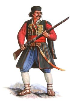 Croatian soldier, late 17th century