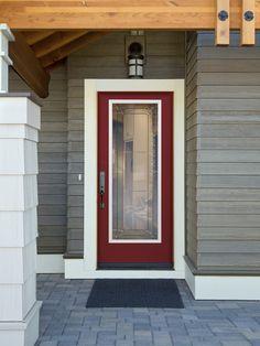 Primed Satin 1-Lite Door by Mastercraft®   Interior Doors ...