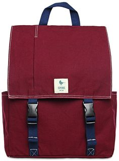 Esperos carry hope Rucksack The Classic Backpack Backpack Craft, Canvas Backpack, Travel Bags, Women's Accessories, Burgundy, Crossbody Bag, Take That, Handbags, My Style