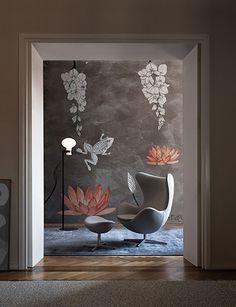 Wall&Deco Wallpaper Mustertapete Fototapete italienisches Design