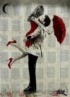 Loui Jover Ink Drawing