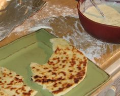 Naan and Tziki Sauce Appy
