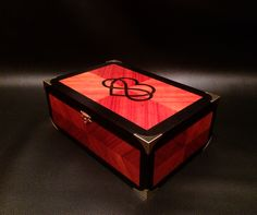 Wooden Watches Box with divisors and five internal spaces