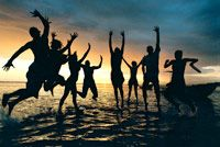 Fiji Beachouse Sunset