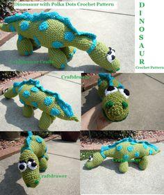 Crochet Dinosaur Patterns - Learn About Crocheting Stuffed Toys
