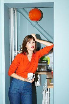 Living In Paris - Jeanne Damas Home Tour
