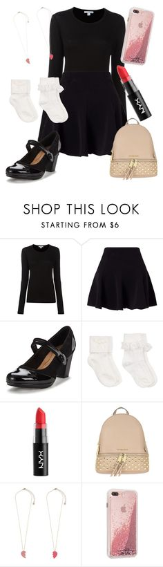 """""""Universal Outfit"""" by gabylopez20022009 ❤ liked on Polyvore featuring James Perse, Miss Selfridge, Clarks, John Lewis, NYX, MICHAEL Michael Kors and Accessorize"""