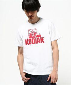 Dickies MENS(ディッキーズ メンズ)のハーフムーンロゴプリントTシャツ 【KODIAKコラボ】(Tシャツ/カットソー)|ホワイト
