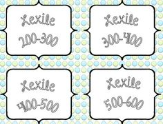 Lexile leveled library labels in 100 point increments. Includes series labels as well. Classroom Decor Themes, Classroom Organization, Classroom Ideas, System 44, Library Labels, Read 180, Lexile, 4th Grade Reading, Reading Intervention