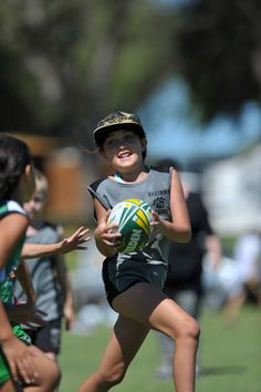 Touch football. Over 500,000 children participating in school programs and related activities, places the sport among the top participant based, organised sports in Australia. #joyofsport http://touchfootball.com.au/index.php?id=1224