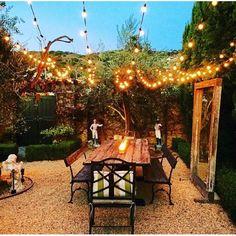 W x 16 Ft. D Solid Wood Pergola - String Lights Outdoor Pergola Diy, Wood Pergola, Patio Gazebo, Backyard Patio, Backyard Landscaping, Pergola Ideas, Patio Ideas, Landscaping Ideas, Backyard Ideas