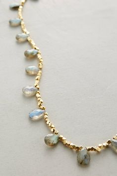Labradorite Zermatt Necklace - anthropologie.com