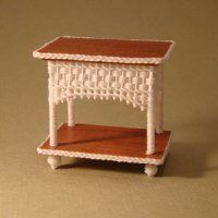 Uncle Ciggie's Miniature Wicker Furniture and Wicker Baskets are meticulously handcrafted in One Inch, Half Inch, and Quarter Inch Scale for miniature collectors and dollhouse miniature enthusiast. Miniature Furniture, Dollhouse Furniture, Diy Dollhouse, Dollhouse Miniatures, Cottage Style Decor, Mini Greenhouse, Thing 1, Mini Things, Wicker Furniture