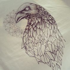 Geometric crow.