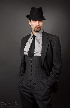 Men should wear corsets again.