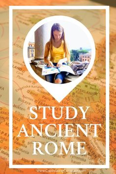 Head to Rome with your family OR plan to study at home. The Homeschool in the Woods Project Passport - Ancient Rome. Learn how to homeschool & travel. Ancient Rome, Ancient History, European History, Travel With Kids, Family Travel, Engage In Learning, Homeschool Curriculum, Homeschooling Resources, History For Kids