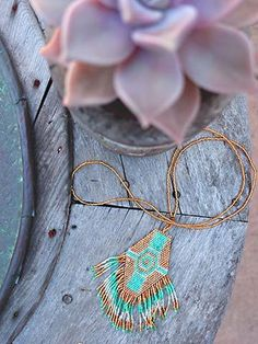 Beaded Festival Necklace