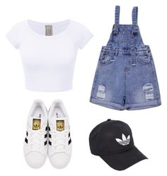 """""""Untitled #6"""" by morgan-starr1 ❤ liked on Polyvore featuring adidas Originals and adidas"""