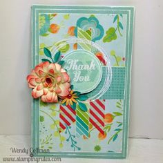 CTMH Blossom Thank You Card
