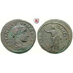 Römische Provinzialprägungen, Thrakien, Hadrianopolis, Gordianus III., Bronze 238-244, ss+: Thrakien, Hadrianopolis. Bronze 28 mm… #coins