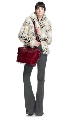 If this were faux fur... I would be all over it! Moda Operandi, Rachel Zoe