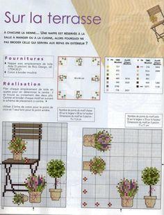 MAINS & MERVEILLES Point de Croix №73 2009