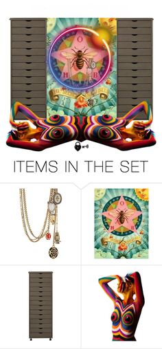 """""""The secret life bees"""" by didesi ❤ liked on Polyvore featuring art"""