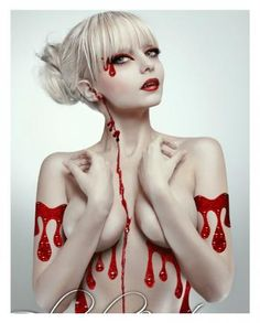 Body Art Tattoo Blutrausch | HORROR-SHOP.COM
