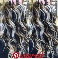 77 interesting curly hair photos is part of Hair - 77 interesting curly hair photos Jessica Smith, Gray Hair Highlights, Hair Color And Cut, New Hair Colors, Pinterest Hair, Balayage Hair, Haircolor, Gorgeous Hair, Pretty Hairstyles