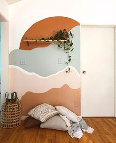 Bedroom Wall, Bedroom Decor, Aesthetic Room Decor, New Room, Home And Living, Room Inspiration, House Design, Interior Design, Home Decor
