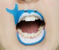 cool lip paint ideas - Google Search