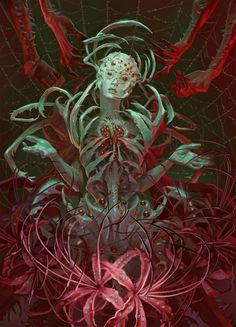 Art and Oddities Monster Concept Art, Fantasy Monster, Monster Art, Creature Concept Art, Creature Design, Arte Horror, Horror Art, Dark Fantasy Art, Fantasy Artwork