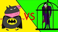 #Peppa Pig Español George Crying in Prison/Spiderman Vs Joker Superhero in Real Life Saviors English