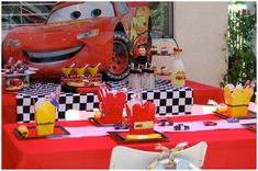 Disneys Cars Party on Pizzazzerie